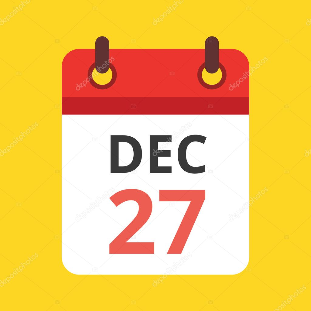 Calendar Vector : Vector calendar icon — stock magurok