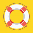 Vector Lifebuoy Icon — Stockvectorbeeld