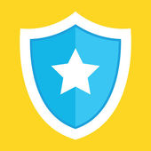 Vector Shield Icon — Stock Vector