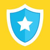Vector Shield Icon — Stock Vector