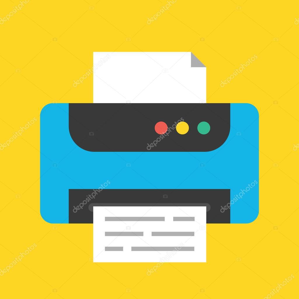 значок принтера: