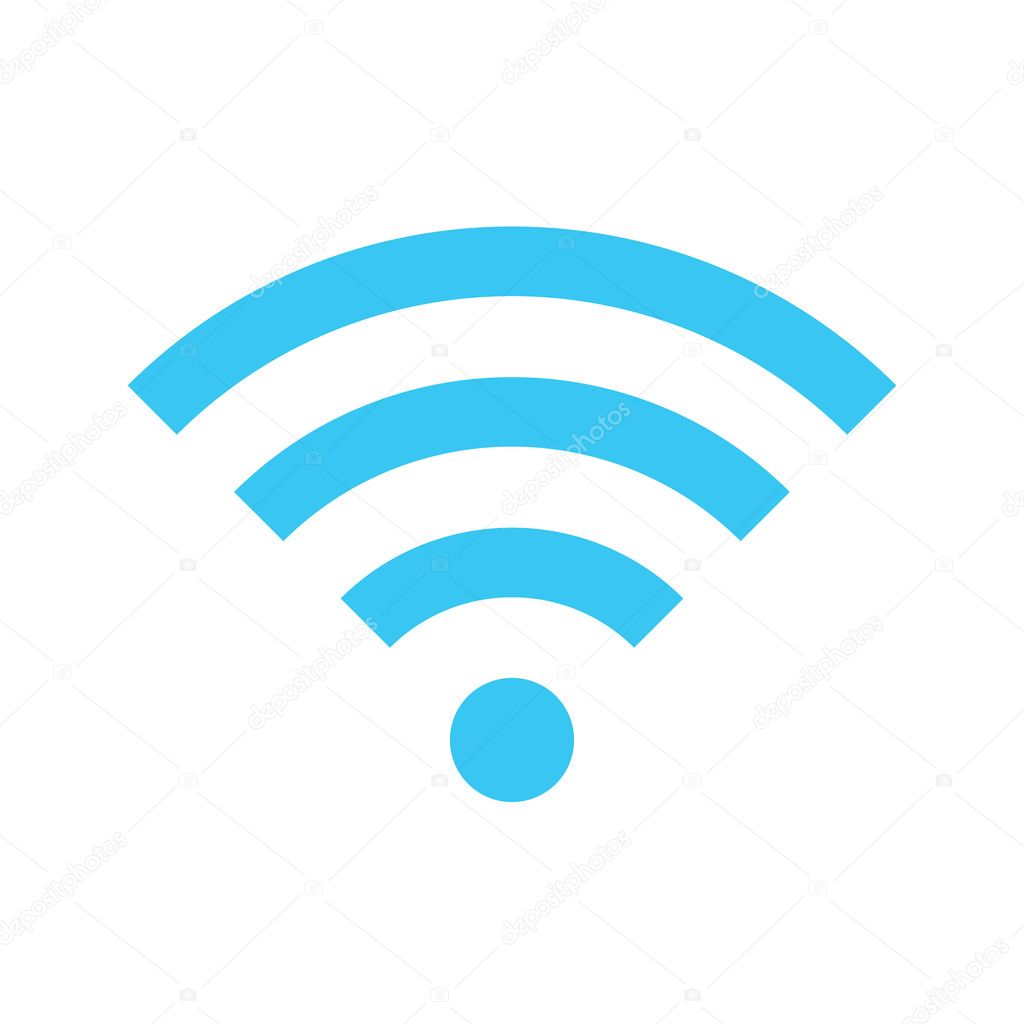 Vector Wireless Network Icon — Stock Vector #33129723