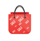 Shopping Bag Icon — Stock Vector
