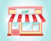 Shop Market Icon — Stok Vektör