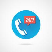 矢量电话服务图标 — 图库矢量图片