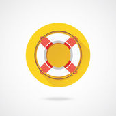 Vector Lifebuoy — Stock Vector