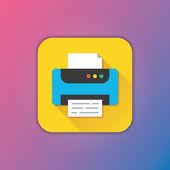 Vector Printer Icon — Stock Vector