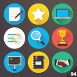 Vector Icons for Web and Mobile Applications. Set 4. — Stock Vector