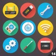Vector Icons for Web and Mobile Applications. Set 14. — Stock Vector #36835895
