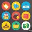 ストックベクタ: Vector Icons for Web and Mobile Applications. Set 15.