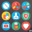 Vector Icons for Web and Mobile Applications. Set 21. — Stock Vector