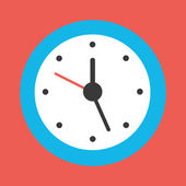 Vector Clock Icon — Stock Vector