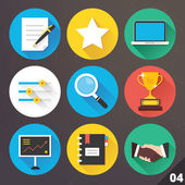 Vector Icons for Web and Mobile Applications. Set 4. — Vecteur