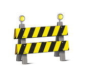 Road Barrier — Stock Vector