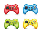 Gamepad Set2 — Vector de stock
