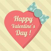 Wektor słodki tło valentine szczęśliwy dzień ilustracja — Wektor stockowy