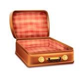 Open Suitcase — Stock Vector