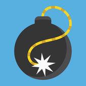 Vector Bomb Icon — Stock Vector