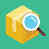 Vector Search Box Icon — Stock Vector