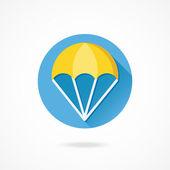Parachute — Stockvektor