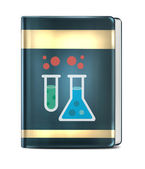 Chemical Book — Stock Vector
