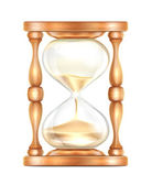 Hourglass — Vector de stock