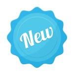 Vector New Badge Flat Icon — Stock Vector #51276361
