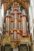 Church Organ in Haarlem, Netherlands — Stock Photo