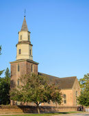 Bruton Parish Church — Stock Photo