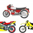 Motocycles, sport, motor, speed, motobikes - Stock Photo