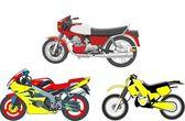 Motocycles, sport, motor, speed, motobikes — Stock Photo