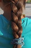 Thick braid — Stock Photo