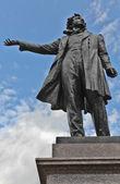 Great Russian poet Pushkin — Stock Photo