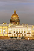 Dome of St Isaac Cathedral in Petersburg — Stock Photo