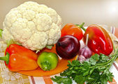 Group of different vegetables — Stock Photo
