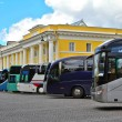 Buses in street — Stockfoto #13850917