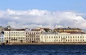 Embankment at St.Petersburg — Stock Photo