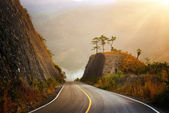 Highland Highway in Central America — Stock Photo