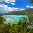 View of the tropical island with Snake Island. El Nido, Philippines — Stock Photo #26916739