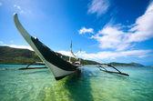 エルニードの島々 の周りのフィリピン ボート。フィリピン — ストック写真