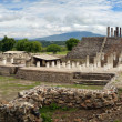 Panoramic views of the ancient Toltec ruins in the city of Tula. — Stock Photo