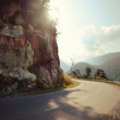 Turn of rural mountain highway in Mexico — Stock Photo #37472585
