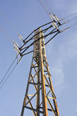 Tower of power lines — Stock Photo