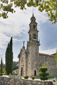 Bastavales church at Brion town — Stock Photo