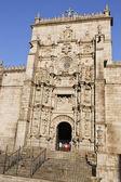 Santa María Maggiore church at Pontevedra city — Photo
