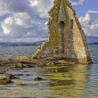 Stock Photo: SSaturnino tower on Cambados