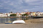 Rianxo from the fishing port — Stock Photo