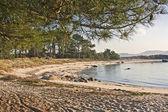 Spiaggia al parco naturale di carreiron — Foto Stock