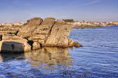Litoral rocks — Stock Photo