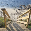 Stairway to the beach — Stock Photo #13744038